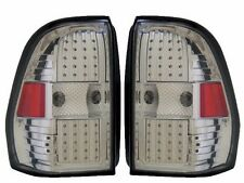 NEWMAR LONDON AIRE 2014 2015 PAIR CHROME LED TAIL LAMPS TAILLIGHTS REAR RV - SET