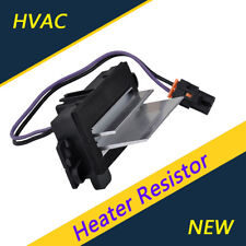 HVAC Heat Blower Motor Resistor #4P1516 4P1595 For Chevrolet GMC Cadillac Buick