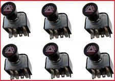 6x Warnblinkschalter Zugschalter Schalter Traktor Schlepper Auto PKW Radlader