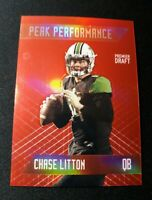 A54 2018 Sage Hit Peak Performance Red /25 CHASE LITTON Rookie Card