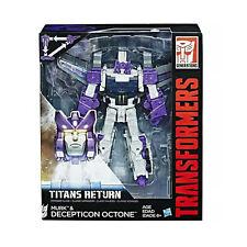 Transformers Generations Titans Return Voyager Class MURK & DECEPTICON OCTONE