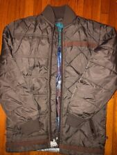 Volcom Puffer Olive Green Jacket Boys Size Small
