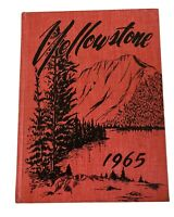 Vintage Yellowstone 1965 Yearbook
