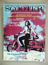 Scooter Magazine #9 - January, 1960 ~~ Lambretta  ~~ scarce mc mag