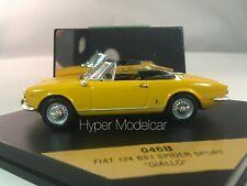 Vitesse 1/43 Fiat 124 Spider Sport BS1 Yellow Art. 046B