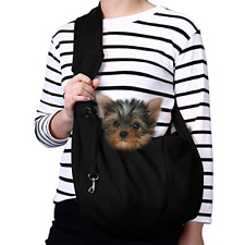 Small Dog Cat Carrier Sling Hands-Free Puppy Outdoor Travel Bag Tote Reversible