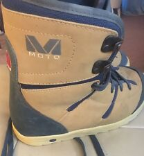 Women's Moto Mountain Extreme Hiking Ice Snow Boots Size (U.S. 6) ITALY Nice
