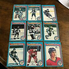 1979-80 O-PEE-CHEE  PITTSBURGH PENGUINS  18 card   team set