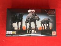 BANDAI Star Wars THE LAST JEDI VEHICLE MODEL 012 AT-M6 Model Kit NEW from Japan