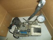 McNeilus Concrete Mixer, Pressure Gauge has Crack in Glass *FREE SHIPPING*