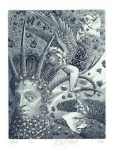 Ex Libris Bookplate Exlibris Etching Jurij Jakovenko - Belarus