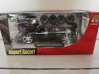 *NEW SEALED* Jada Import Racer MITSUBISHI ECLIPSE Black 1:24 NIB VHTF