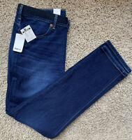 Edwin Womens Japanese Jeans-Dark Wash/Tapered with Stretch/Size 32x29-NWT
