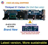 Lenovo ThinkPad X1 Carbon 2nd Gen Gen2 i5-4210U 4G LMQ-1 12298-2 Motherboard