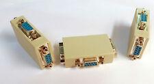 DB9 dual gender changer F-F-F - DB9 splitter - 3 female DB9 ports