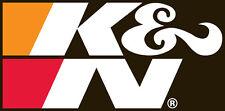 "89-16189 K&N Decal; Sponsorship 10-5/8"" x 5-1/4""; 56 sq. in; Black DECAL"