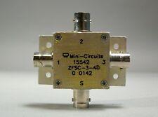 Mini Circuit 15542 ZFSC-3-4 BNC - Used - Lot of 2 pcs