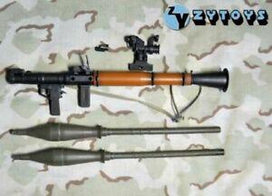 1:6 Scale Action Figure Bazooka Panzerschreck Anti Tank Rocket Launcher Ba/_2a