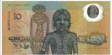 Australia 1988,10 Dollars World's 1st Polymer Note