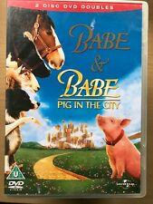 Babe & Pig In The City ~ 1995/1998 1+ 2 ~ Familia Película Double Bill Gb DVD
