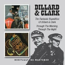 Dillard & Clark - Fantastic Expedition of Dillard & Clark / Through [New CD] Rms