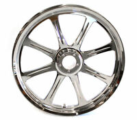 Meridian 17 x 6.25 Wheel Chrome by Revtech / Performance Machine Harley Softail