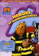 Bear in the Big Blue House: Heroes of Woodland Valley (2004, REGION 1 DVD New)