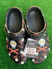 Crocs Bistro Graphic Clogs Eggs And Bacon Slip Resistant Shoes Men's Size 11