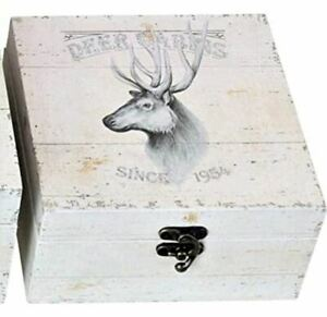 Hoff Interieur Deco Real Wood Book Box Chests Boxes Coffers Lodge Jingel Dee