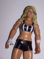 WWE Jakks Trish Stratus Diva in Referee Outfit Wrestling Action Figure - WWF