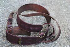 Officers leather sam brown belt