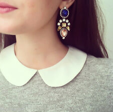 Luxury Chandelier Crystal Charm Earring Ethnic Bollywood Fashion Earrings