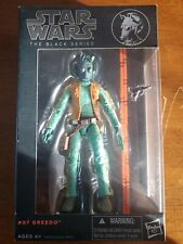 Hasbro Star Wars The Black Series Greedo Action Figure Original Release