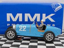 MMK Bugatti Tipo 51 #22 ganador SF 22 Azul Resina le 1:32 Ranura Nuevo Y En Caja