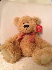 "New Russ Berrie ""Brawson"" Plush Tan Teddy Bear #23135"