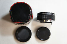 JCPenney Auto 2X Teleconverter For Pentax PK Mount with Leather Case