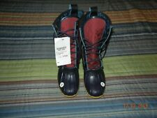 """LLBean Quilt Patch 10"""" Boots,  Women's Size 7 NEW, LIMITED EDITION"""