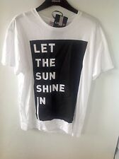 M&S Limited Edition Printed T Shirt Size: 10
