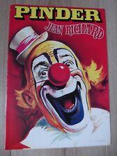 CIRQUE PINDER 1986 JEAN RICHARD Tournage avec ALAIN DELON  film PAROLE DE FLIC