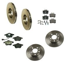 VW Golf Beetle Jetta 1.8T 2.5 2.8L Complete Brake Kit Ate Pads & Brembo Rotors