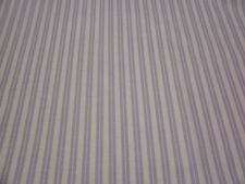 Mauve DOUBLE STRIPE White Fabric - 1/2 yard