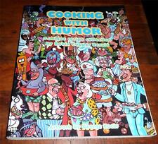 Cooking with Humor  A Unique Recipe Collection by Robin C. Benzle Nice Softcover