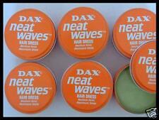 6 x DAX Neat Waves Hair Dress Medium Hold , Maximum Shine - Pomade Orange Dose