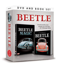 VW BEETLE MAGIC DVD AND LITTLE BOOK OF VOLKSWAGEN BEETLE BOX SET - CAR GIFT SET