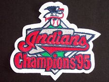 Official MLB 1995 A.L. Champions Jersey Patch - Cleveland Indians - NEW/MINT