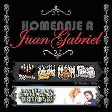 Various Artists : Homenaje a Juan Gabriel CD