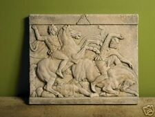 Alexander the Great Sarcophagus relief home stone decor wall tile art sculpture