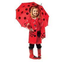 New Kidorable Lady Bug Rain Gear Girls Coat, Boots & Umbrella Custom Orders