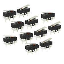 11 Pcs 1No 1Nc Spdt Momentary Long Hinge Lever Micro Switches Ac 125V 1A Cp