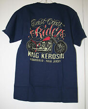 KING KEROSIN T-SHIRT MENS MOTOCYCLE EAST COAST RIDERS  SIZE S   NEW
